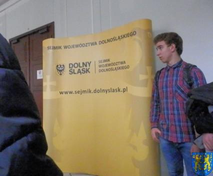 Lekcja  wiedzy o społeczeństwie w Urzędzie Marszałkowskim (5)