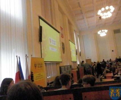 Lekcja  wiedzy o społeczeństwie w Urzędzie Marszałkowskim (8)