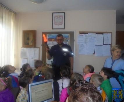 Przedszkolaki trafiły na policję (1)