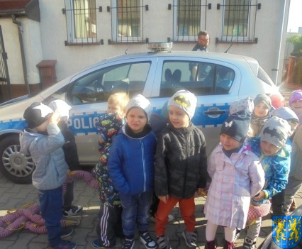 Przedszkolaki trafiły na policję (17)