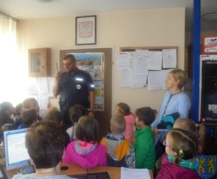 Przedszkolaki trafiły na policję (2)