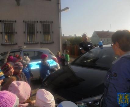 Przedszkolaki trafiły na policję (9)