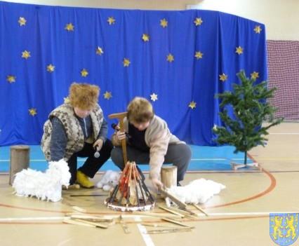 Jasełka Bożonarodzeniowe w kamienieckiej szkole (2)