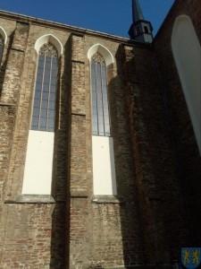 Remont witraży w kościele parafialnym (1)