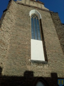 Remont witraży w kościele parafialnym (2)