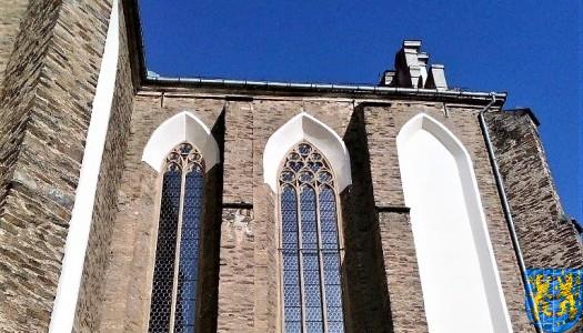 Remont witraży w kościele parafialnym