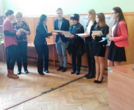 Sukces gimnazjalistów z Kamieńca Ząbkowickiego (7)
