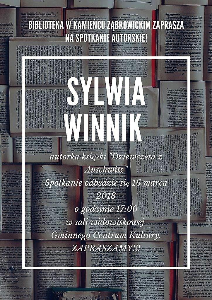 Zaproszenie na spotkanie z autorką książki Dziewczęta z Auschwitz_01