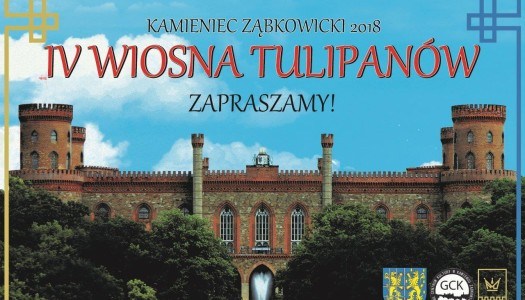 IV Wiosna Tulipanów w Kamieńcu Ząbkowickim – zaproszenie