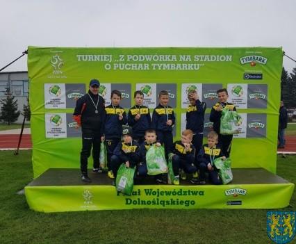Ekipa z Kamieńca Ząbkowickiego w finale wojewódzkim Tymbarka (26)