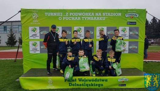 """Ekipa z Kamieńca Ząbkowickiego w finale wojewódzkim """"Tymbarka""""!"""