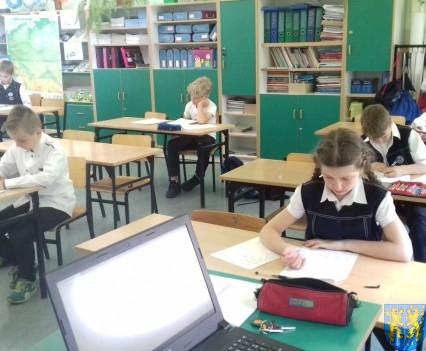 Konkurs MATEHEMATICUS  w klasach trzecich (2)