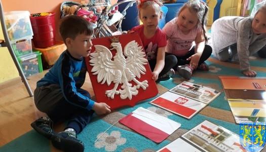 Lekcja patriotyzmu wśród przedszkolaków