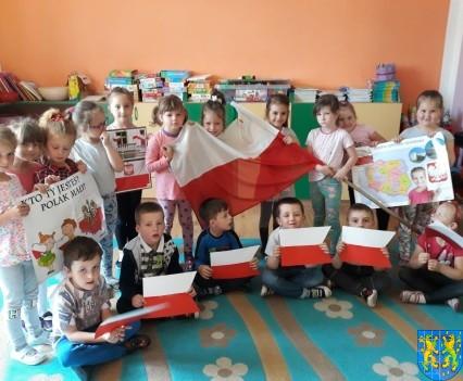 Lekcja patriotyzmu wśród przedszkolaków (4)