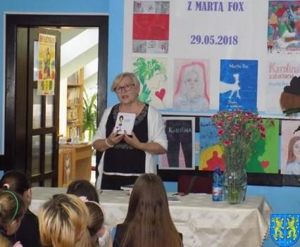 Pani Marta Fox w kamienieckiej szkole (1)
