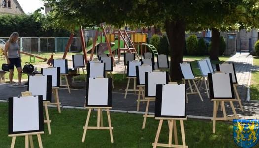 Przedszkolaki pięknie malują