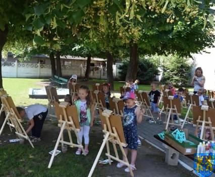 Przedszkolaki pięknie malują (10)