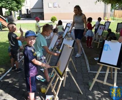 Przedszkolaki pięknie malują (13)