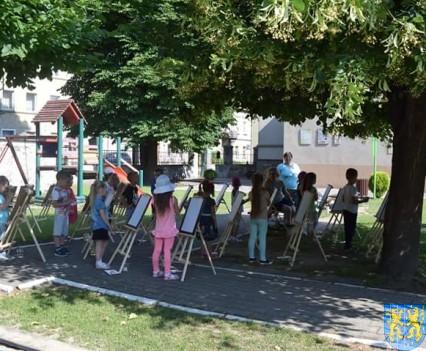 Przedszkolaki pięknie malują (2)