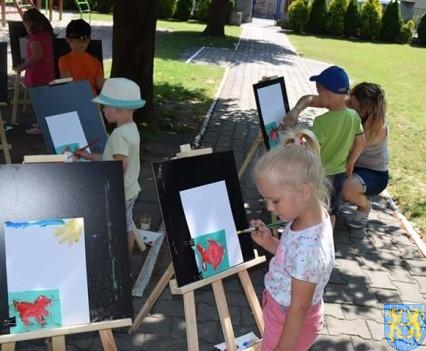 Przedszkolaki pięknie malują (26)