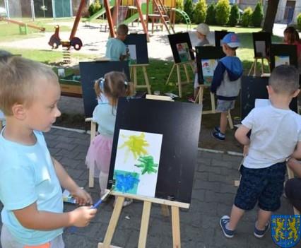 Przedszkolaki pięknie malują (31)