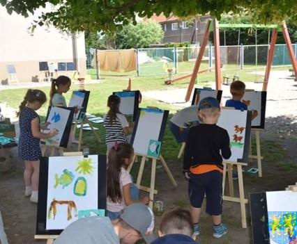Przedszkolaki pięknie malują (36)