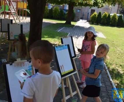 Przedszkolaki pięknie malują (5)