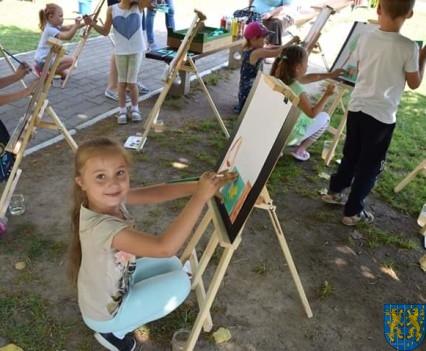 Przedszkolaki pięknie malują (6)