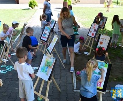 Przedszkolaki pięknie malują (7)