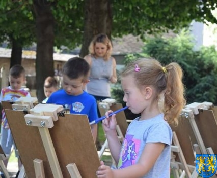 Przedszkolaki pięknie malują (9)