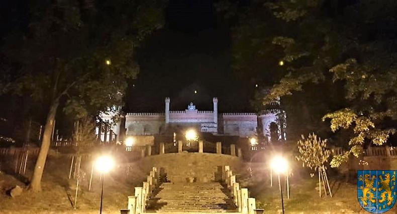 Pałac Marianny Orańskiej widziany nocą (6)
