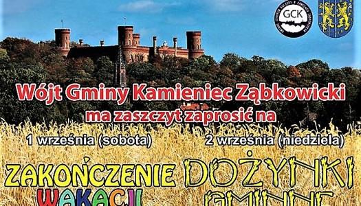 1 i 2 września czeka nas mnóstwo wrażeń w Kamieńcu Ząbkowickim