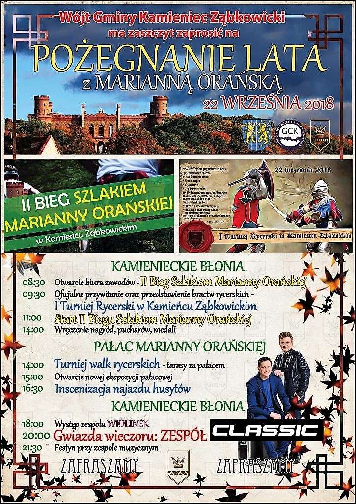 Pozegnanie Lata z Marianna Oranska 2018 zaproszenie (2)