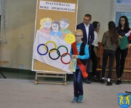 Inauguracja roku sportowego w kamienieckiej Jedynce (1)