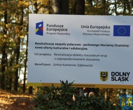 Mauzoleum w Kamieńcu Ząbkowickim odnowione i dostępne (14)