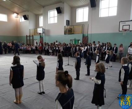 Pasowanie Pierwszoklasistów w Szkole Podstawowej nr 2 (1)