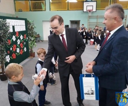 Pasowanie Pierwszoklasistów w Szkole Podstawowej nr 2 (12)