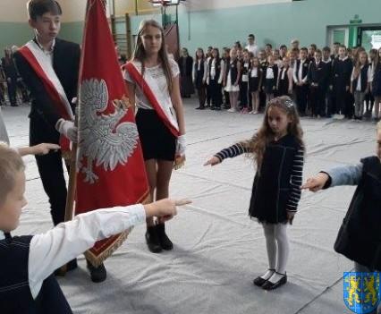 Pasowanie Pierwszoklasistów w Szkole Podstawowej nr 2 (29)