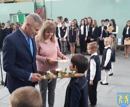 Pasowanie Pierwszoklasistów w Szkole Podstawowej nr 2 (31)
