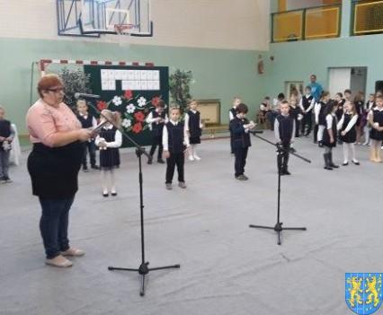 Pasowanie Pierwszoklasistów w Szkole Podstawowej nr 2 (45)