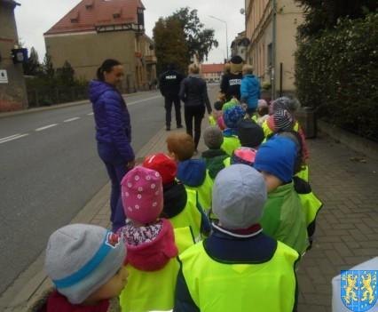 Przedszkolaki z Baśniowej Krainy na spotkaniu z Komisarzem Lwem (57)