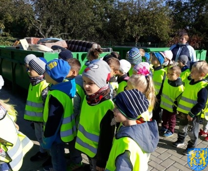 Przedszkolaki z wizytowały Punkt Selektywnej Zbiórki (14)