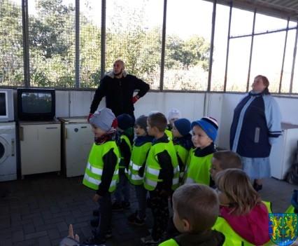 Przedszkolaki z wizytowały Punkt Selektywnej Zbiórki (22)