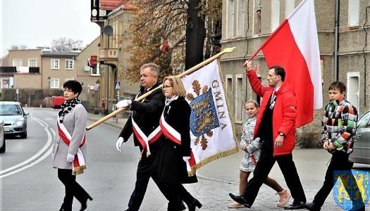 Światło Niepodległej – stulecie świętowane w Gminie Kamieniec Ząbkowicki / VIDEO – FOTO
