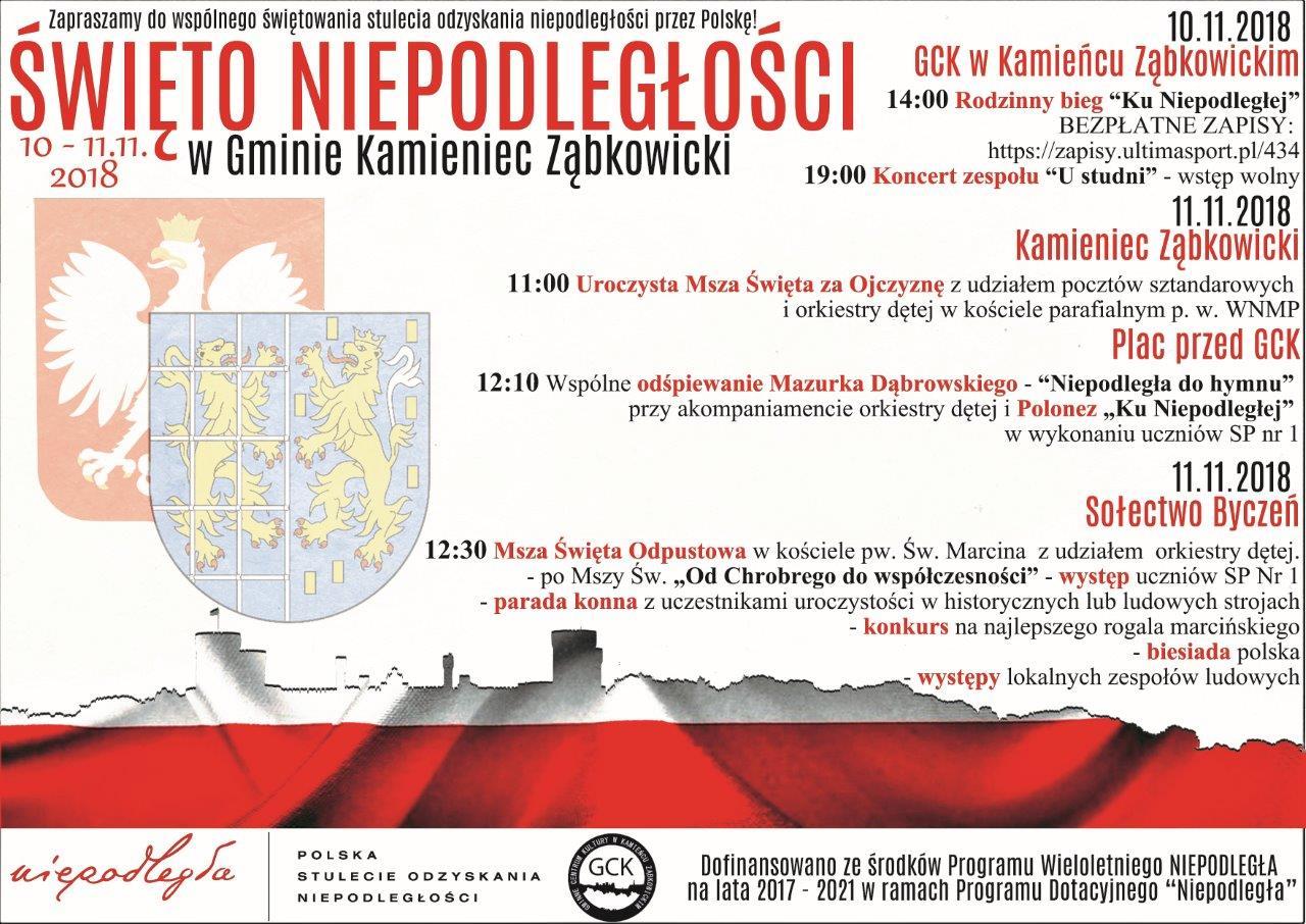 100lecie niepodległości Polski w Kamieńcu Ząbkowickim_01