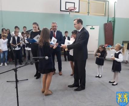 Stypendia Wójta Gminy Kamieniec Ząbkowicki dla uczniów kamienieckiej Dwójki (10)