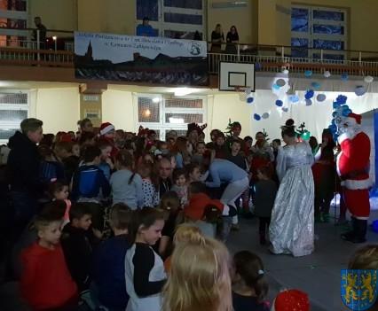 Święty Mikołaj zawitał do Gminy Kamieniec Ząbkowicki (1)