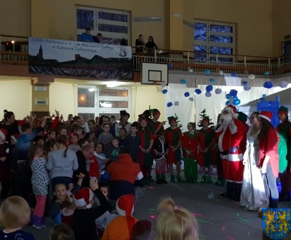 Święty Mikołaj zawitał do Gminy Kamieniec Ząbkowicki (80)