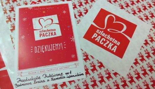 """""""Szlachetna Paczka"""" w Kamieńcu Ząbkowickim"""