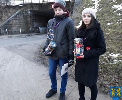 Uczniowie kamienieckiej Dwójki wolontariuszami WOŚP 2019__025